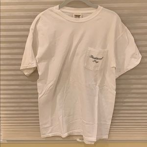 Traditional prep- comfort colors t-shirt